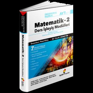 AYT Matematik Ders İşleyiş Modülleri 2. Kitap Aydın Yayınları