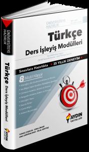 TYT AYT Türkçe Ders İşleyiş Modülleri Aydın Yayınları