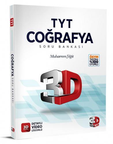 3D Yayınları TYT Coğrafya Soru Bankası Tamamı Video Çözümlü Muharrem Yiğit