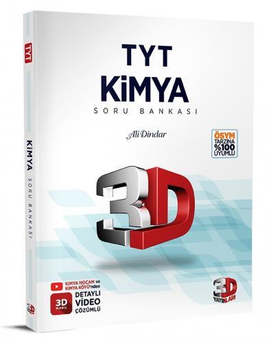3D Yayınları TYT Kimya Soru Bankası Tamamı Video Çözümlü Ali Dindar