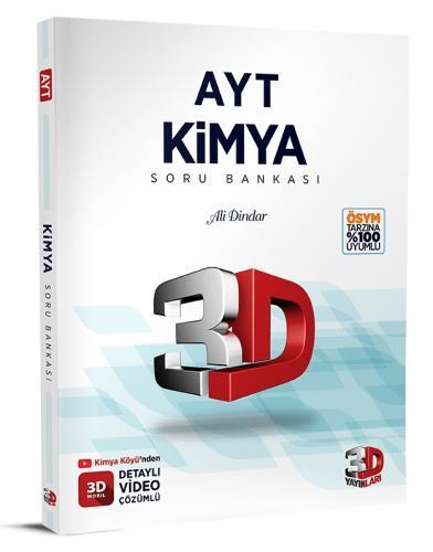 3D Yayınları AYT Kimya Soru Bankası Tamamı Video Çözümlü Ali Dindar