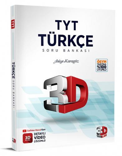 3D Yayınları TYT Türkçe Soru Bankası Tamamı Video Çözümlü Asiye Karagöz