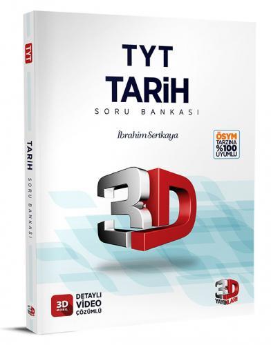 3D Yayınları TYT Tarih Soru Bankası Tamamı Video Çözümlü İbrahim Sertkaya-Murat Usta