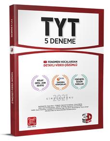 3D Yayınları TYT 5'li Deneme Tamamı Video Çözümlü Ösym Tarzında