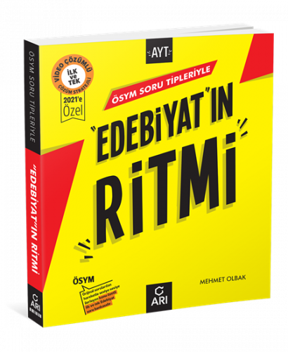 """""""Edebiyat""""In Ritmi (AYT Hazırlık) Arı Yayıncılık  2022"""