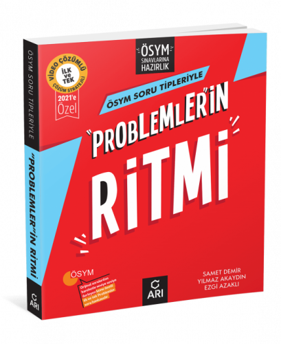 """""""Problemler""""İn Ritmi TYT&AYT (Üniversite Sınavlarına Hazırlık) 2022 Arı Yayıncılık"""