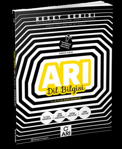 Reset Serisi TYT Dil Bilgisi Denemeleri Arı Yayıncılık