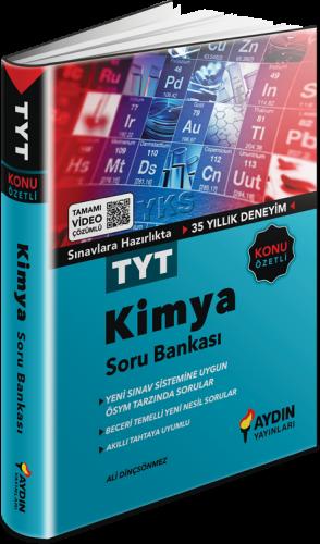 TYT Kimya Konu Özetli Tamamı Video Çözümlü Soru Bankası Aydın Yayınları