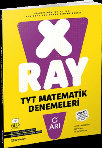 X-Ray TYT Matematik Denemeleri 2022 Arı Yayıncılık